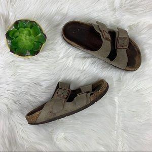 Birkenstock Arizona Sandal Gray Two Strap Size 36